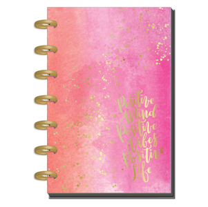 Agenda Mini Happy Planner – 12 Meses – Sin Fechas – Live Loud