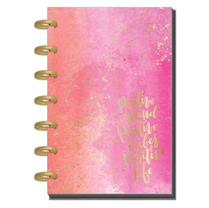 Agenda Mini Happy Planner – 12 Meses – Sin Fechas – Live Loud